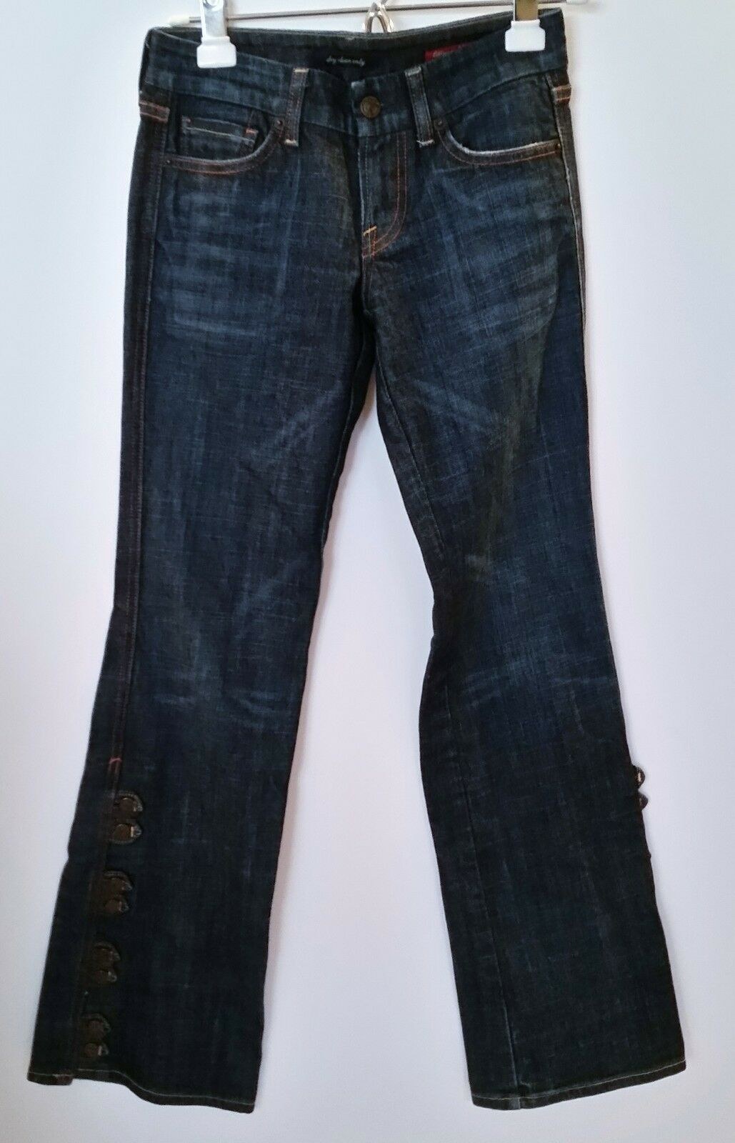 Citizens of Humanity Dark bluee Button Flare Jeans - Size 24