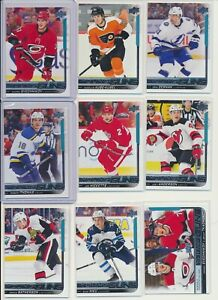 2018-19-Upper-Deck-Series-2-YOUNG-GUNS-Rookie-U-Pick-COMPLETE-YOUR-SETS