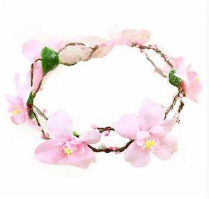 Haarreif Blüten Lilie Blumen Hochzeit Kommunion Festival Haarband BRAUT-Farbwahl