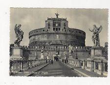 Roma Ponte e Castel S Angelo Postcard Italy 560a