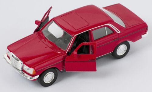 BLITZ VERSAND Mercedes E-Class 230 E rot red Welly Modell Auto 1:34 NEU /& OVP