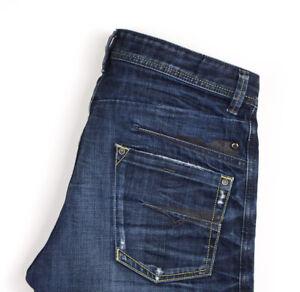 Diesel Hommes Darron Jeans Jambe Droite Taille W32 L26 APZ1282