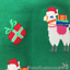 Novelty Christmas Llama Alpaca socks Unisex One Size Sock Society 3 PACK OFFER