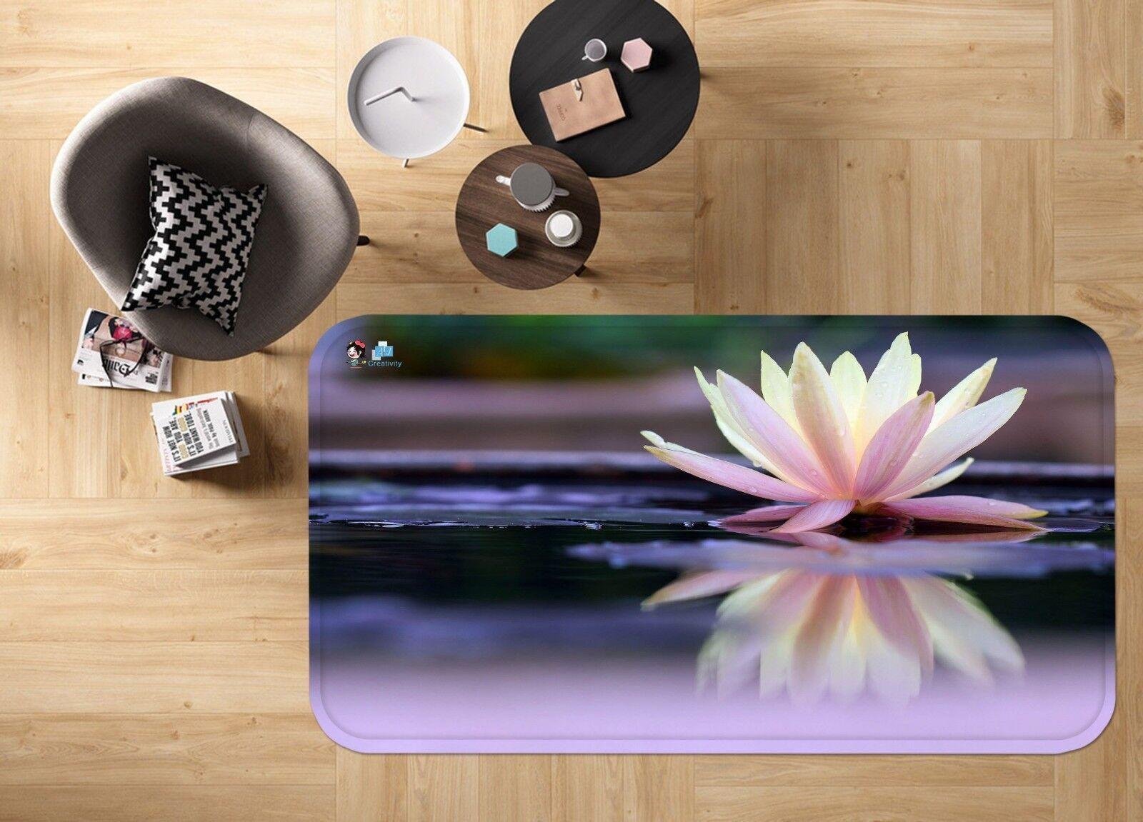 3d naturaleza Lotus 683 antideslizante alfombra alfombrilla para maletero alfombra elegante de Carly