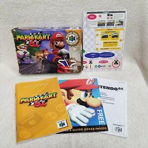⭐Mario Kart 64 Nintendo 64 N64 Box Manual Inserts ONLY NO Game Boxed ⭐👀