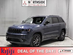 2020 Jeep Grand Cherokee 4WD LIMITED X Navigation (GPS),  Leather,  Heated Seats,  Panoramic Roof,  Back-up Cam,  Bluetooth,