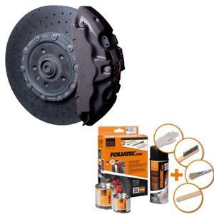 foliatec bremssattellack farbe 2170 carbon metallic f r 4. Black Bedroom Furniture Sets. Home Design Ideas