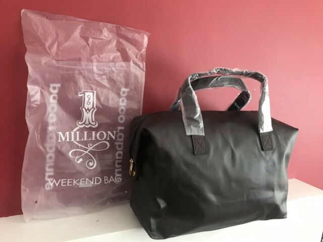 PACO RABANNE 1 Million Men's Weekend, Gym,Travel Bag BRAND NEW!