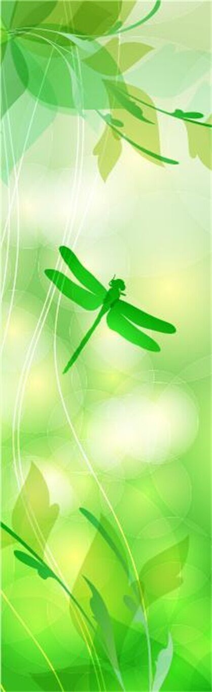 3D Grün dragonfly Wall Paper Print Decal Wall Deco Deco Deco Indoor wall Mural 6bf7ae