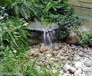 pondmaster diy pondless 700 waterfall kit water feature pond
