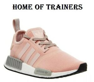 c504a59907439 ADIDAS NMD RUNNER R1OG LIGHT PINK WOMEN S TRAINERS BY3059 (PTI)