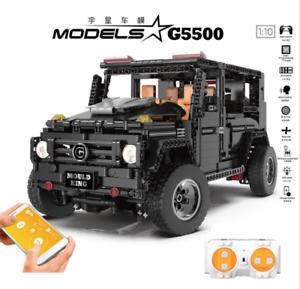 Bausteine-Gelaendewagen-Fernbedienung-G650-Spielzeug-Geschenk-Modell-Kind