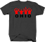Ohio-State-Pride-Funny-YMCA-Arm-Movement-in-Red-Tshirt miniature 1