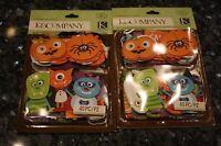 K&company 50 Pc Halloween Layered Accents With Glitter