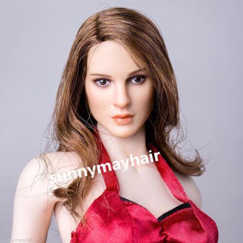 "Natalie Portman Head Carving KIMI TOYS KT008 1//6 Custom F 12/"" Phicen Hot Figures"