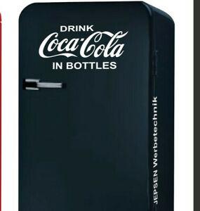 Drink-Coca-Cola-in-Bottles-Aufkleber-50x25cm-fuer-Kuehlschrank-Tuer-Farbwahl