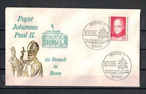 Rfa-Sou-Pape-Jean-Paul-Ii-pour-Visite-dans-Bonn-Sst-15-11-1980
