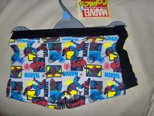 Boys Marvel Comic 2 pack Vests Age 9-10 Years