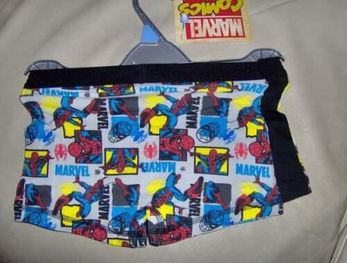 AGES 6//7 2 PACK MARVEL COMIC BOYS BOXERSHORTS -12//13 YRS   BLUE//WHITE MIX
