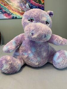 "Build a Bear Workshop HIP HIPPO 12/""  Plush Toy BABW"