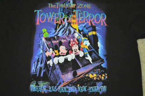 Vintage Disney Twilight Zone Tower Of Terror Ride