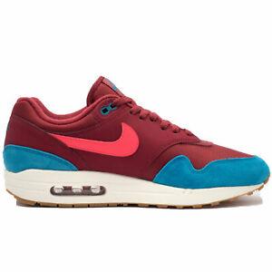 f77e3be314ebd Nike Men's Air Max 1 White/University Red/Grey AH8145-601 | eBay
