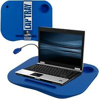 Laptop Desk Tray Portable Lap Board Tablet Holder Notebook Bed Stand +light Blue
