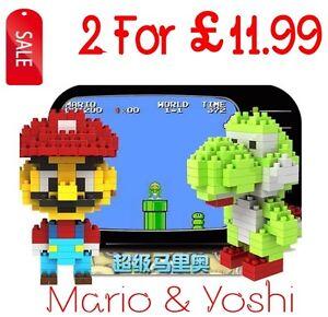 Mini Blocks Nano Block Building Blocks Sets Toys Gift Series- Mario & Yoshi