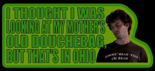 "80/'s Classic Revenge of the Nerds Booger /""My Mother/'s Old Douchebag/"" custom tee"