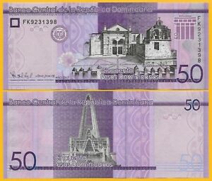 Dominican-Republic-50-Pesos-Dominicanos-p-new-2017-2019-UNC-Banknote