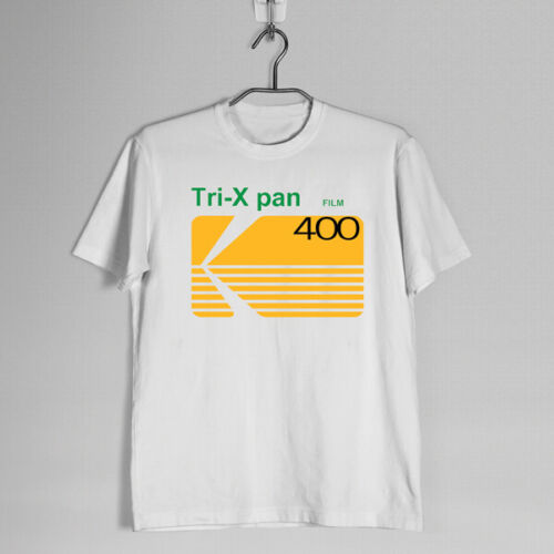New Kodak Tri-X Pan 400 Camera Film Logo T-shirt S-3XL