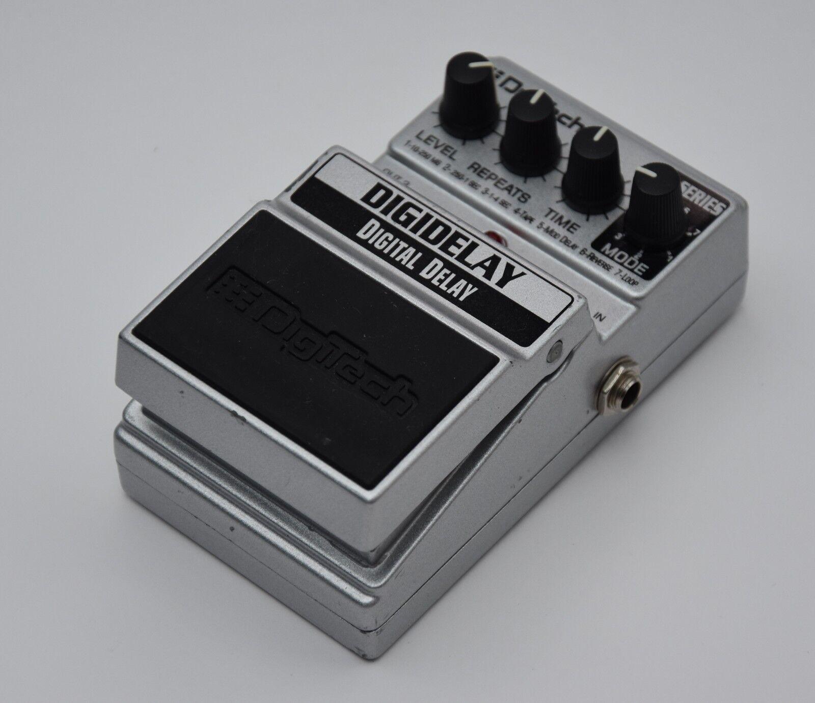 DigiTech DIGIDELAY Digital Delay X-series effects pedal NM+ for guitar bass keys