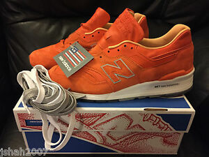 various colors 6594e f8ca8 Image is loading Concepts-x-New-Balance-997-Luxury-Goods-Orange-