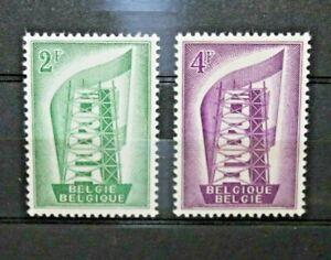 BELGIO-1956-034-EUROPA-CEPT-034-SERIE-NUOVA-MNH-SET-CAT-SC