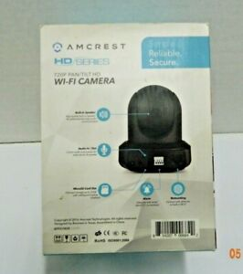Amcrest 720P WiFi Video Monitoring Security Wireless IP Camera with Pan/Tilt NEW