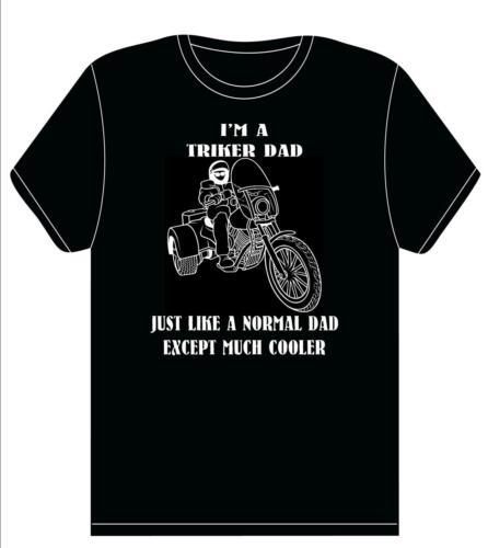 BIKER DAD BIKER T shirt Biker Gift-**TRIKER