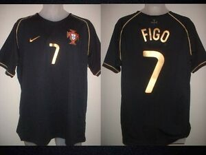 huge selection of 4de45 ef9d3 Portugal Luis FIGO Adult L Real Madrid Nike Away Shirt ...