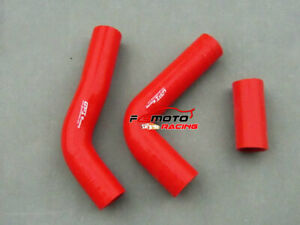 Red-For-Toyota-Hilux-LN106-LN107-LN111-LN130-2-8-Silicone-Radiator-Hose-kit