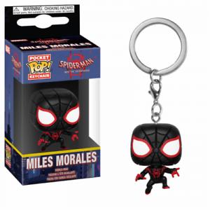Mile Morales Keychain Spider-Man Into the Spider-Verse Pocket POP