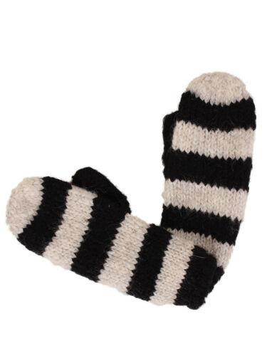 Lee Damen Handschuhe Striped Gloves