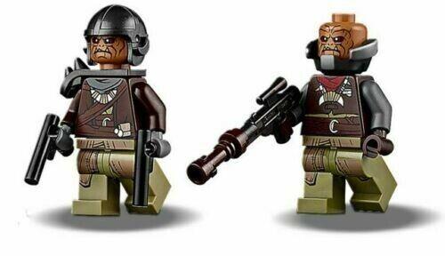 2 Klatooinian Raiders LEGO Minifigure Mandolorian 75254 NEW