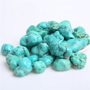 Wholesale-200g-Bulk-Big-Tumbled-Stone-Turquoise-Crystal-Healing-Reiki-Mineral