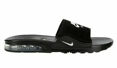 NEW Men's Nike Air Max Camden Slide Sandal -Black /White | eBay
