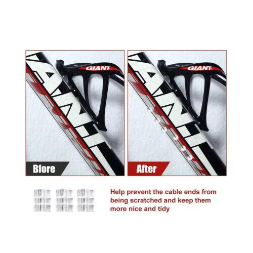 Details about  /4 Pieces Universal Bike Inner Brake Cable Housing Kit Bicycle Brake Cable Rep...