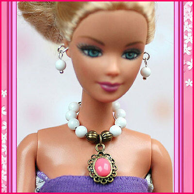 Handmade doll jewelry for  1//6  doll 11.5/""