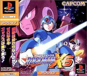 Usado-PS1-PS-PlayStation-1-Rockman-X6