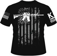 American Gunfighter T-shirt I Knives Out I Veteran I Military I Combat I Patriot