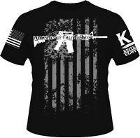 American Gunfighter T-shirt I Knives Out I Veteran I Military I Combat I Patriot