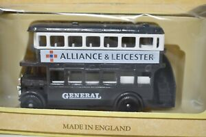 Vintage-ProMotors-Alliance-amp-Leicester-Bus-Collectible-Made-In-England