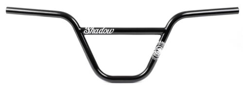 "SHADOW CONSPIRACY VULTUS BMX BIKE BICYCLE BARS HANDLEBARS 9/"" rise MATTE BLACK"